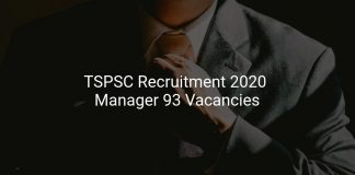 TSPSC Recruitment 2020