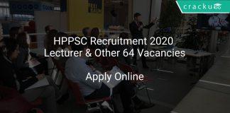 HPPSC Lecturer Recruitment 2020