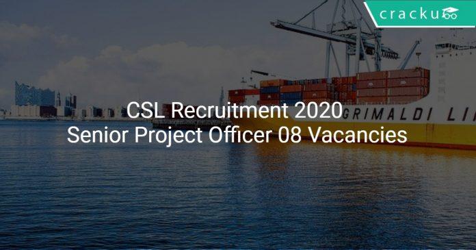 CSL Recruitment 2020