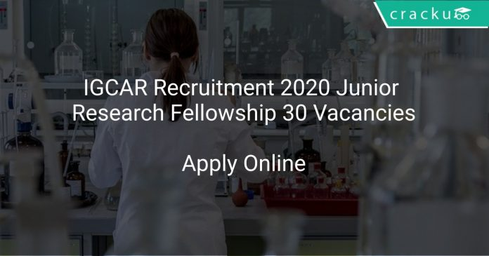 IGCAR Recruitment 2020