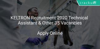 KELTRON Recruitment 2020
