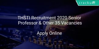THSTI Recruitment 2020