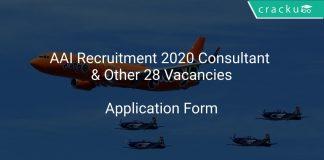 AAI Recruitment 2020 Consultant & Other 28 Vacancies