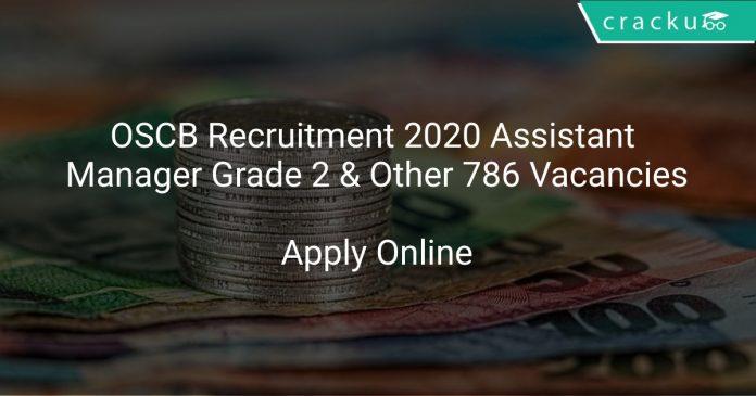 OSCB Recruitment 2020