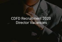 CDFD Recruitment 2020