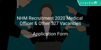 NHM Recruitment 2020 Medical Officer & Other 527 Vacancies