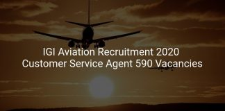 IGI Aviation Recruitment 2020