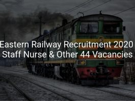 Eastern Railway Recruitment 2020