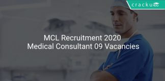 MCL Recruitment 2020