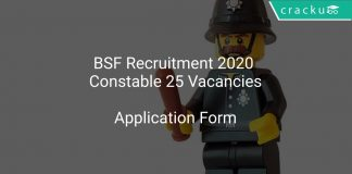 BSF Constable Recruitment 2020