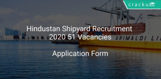 Hindustan Shipyard Recruitment 2020 51 Vacancies