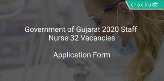 Gujarat Govt Recruitment 2020