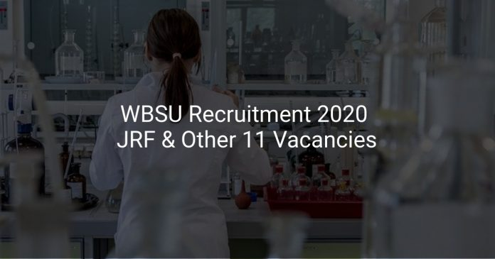 WBSU Recruitment 2020