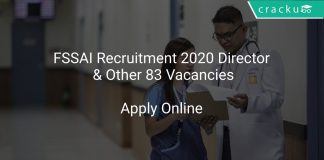 FSSAI Recruitment 2020 Director & Other 83 Vacancies