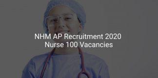 NHM AP Recruitment 2020