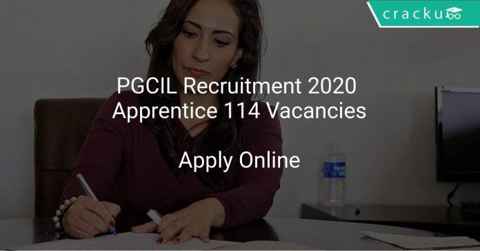 PGCIL Recruitment 2020 Apprentice 114 Vacancies