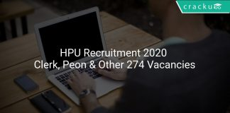 HPU Recruitment 2020