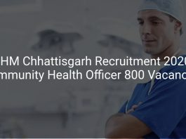 NHM Chhattisgarh Recruitment 2020