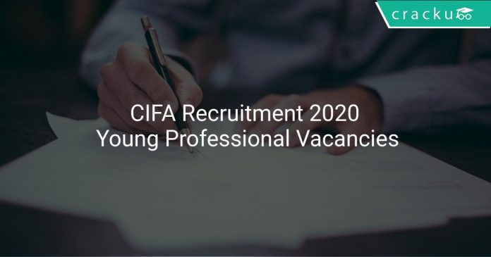 CIFA Recruitment 2020