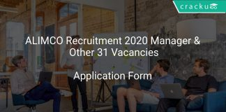 ALIMCO Recruitment 2020 Manager & Other 31 Vacancies