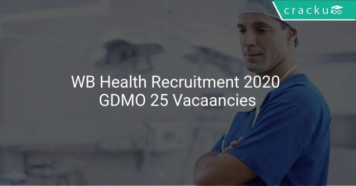 WB Health Recruitment 2020