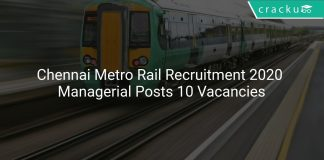 Chennai Metro Rail Recruitment 2020