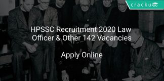 HPSSC Recruitment 2020 Law Officer & Other 142 Vacancies