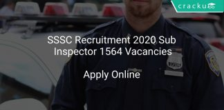 SSSC Recruitment 2020 Sub Inspector 1564 Vacancies