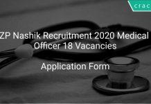 ZP Nashik Recruitment 2020 Medical Officer 18 Vacancies