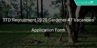 TTD Recruitment 2020 Gardener 47 Vacancies