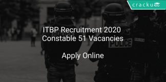 ITBP Recruitment 2020 Constable 51 Vacancies