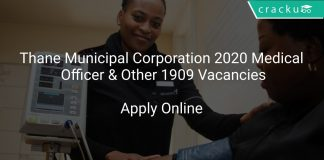 Thane Municipal Corporation 2020 Medical Officer & Other 1909 Vacancies