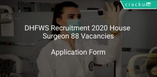 DHFWS Recruitment 2020 House Surgeon 88 Vacancies
