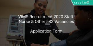 VIMS Recruitment 2020 Staff Nurse & Other 582 Vacancies
