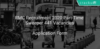 RMC Recruitment 2020 Part-Time Sweeper 441 Vacancies