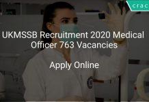 UKMSSB Recruitment 2020 Medical Officer 763 Vacancies