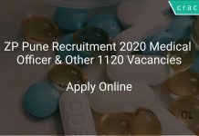 ZP Pune Recruitment 2020 Medical Officer & Other 1120 Vacancies