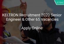 KELTRON Recruitment 2020 Senior Engineer & Other 65 Vacancies