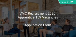 VMC Recruitment 2020 Apprentice 159 Vacancies