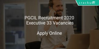 PGCIL Recruitment 2020 Executive 33 Vacancies