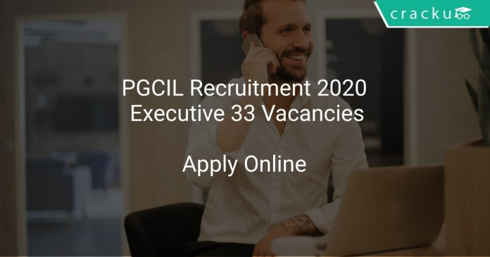 PGCIL Recruitment 2020 Executive 33 Vacancies