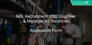 NFL Recruitment 2020 Engineer & Manager 40 Vacancies