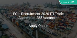 ECIL Recruitment 2020 ITI Trade Apprentice 285 Vacancies