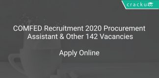 COMFED Recruitment 2020 Procurement Assistant & Other 142 Vacancies