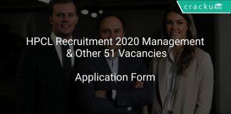 HPCL Recruitment 2020 Management & Other 51 Vacancies