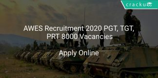 AWES Recruitment 2020 PGT, TGT, PRT 8000 Vacancies
