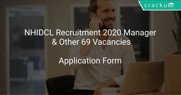 NHIDCL Recruitment 2020 Manager & Other 69 Vacancies