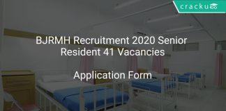 BJRMH Recruitment 2020 Senior Resident 41 VacanciesBJRMH Recruitment 2020 Senior Resident 41 Vacancies