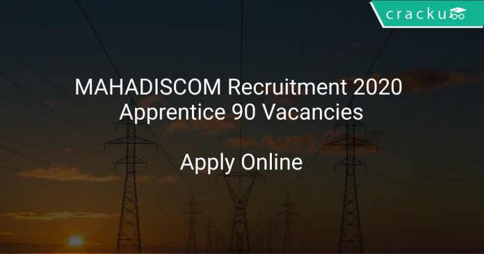 MAHADISCOM Recruitment 2020 Apprentice 90 Vacancies