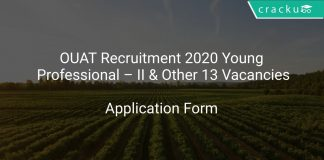 OUAT Recruitment 2020 Young Professional – II & Other 13 Vacancies